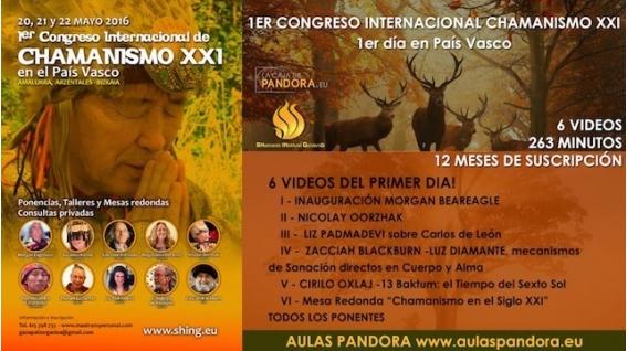 Congreso completo 3 días - CHAMANISMO XXI