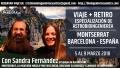 5 al 9 Marzo 2018 – VIAJE + RETIRO EN MONTSERRAT, BARCELONA ESPAÑA – ESPECIALIZACIÓN DE ASTROBIOINGENIERÍA