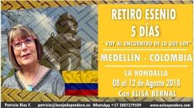 Del 8 al 12 Agosto 2018 ( Medellín - COLOMBIA ) - Reserva - RETIRO ESENIO con Elisa Bernal