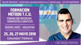 25, 26 y 27 Mayo 2018 ( Argentina ) - RESERVA - Formación Método T.C.U con Sergio Ramos