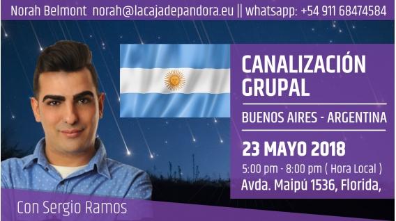23 Mayo 2018 ( Argentina ) - RESERVA - Canalización Grupal con Sergio Ramos