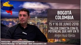 15 y 16 Junio 2018 ( Bogotá, Colombia ) - RESERVA - Taller: Conecta con el Potencial que hay en Tí - Ángel Ruiz Ojeda