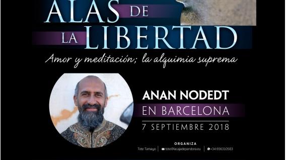 7 Septiembre 2018 - Reserva: ALAS DE LA LIBERTAD - ANAN NODEDT