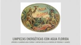 LIMPIEZAS ENERGÉTICAS CON AGUA FLORIDA. Aprende a elaborar Agua Florida y limpiar con ella la energía de personas y lugares.