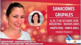 9 Octubre 2018 ( Buenos Aires, Argentina ) - RESERVA - Sanación Grupal con Marta Puig