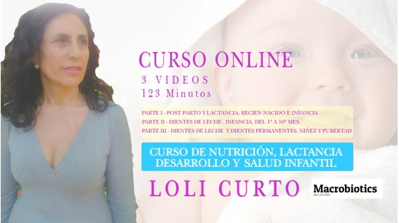 Curso de Nutrición, Lactancia, Salud y Desarrollo Infantil - LOLI CURTO
