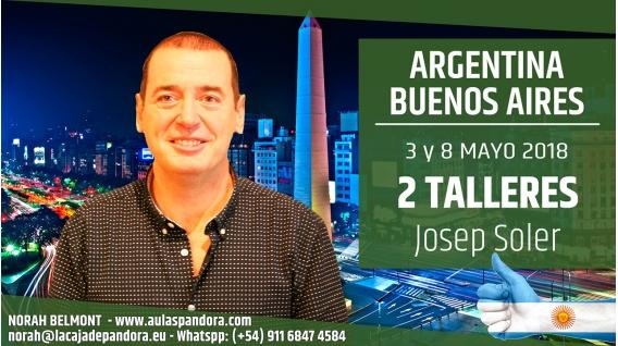3 y 8 Mayo 2018 ( Buenos Aires, Argentina ) - Reserva - PACK 2 TALLERES con Josep Soler