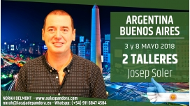 3 y 8 Mayo 2018 ( Buenos Aires, Argentina ) - Reserva - PACK 2 TALLERES con Josep Soler