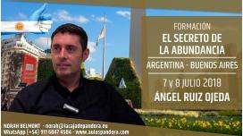 7 y 8 Julio 2018 ( Buenos Aires, Argentina ) - RESERVA - Taller EL SECRETO DE LA ABUNDANCIA con Ángel Ruiz Ojeda