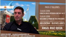 3 y 5 Julio 2018 ( Buenos Aires, Argentina ) - RESERVA - PACK 2 TALLERES con Ángel Ruiz Ojeda