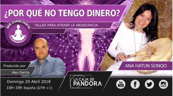 29 abril 2018 - ¿POR QUÉ NO TENGO DINERO? - Taller con Ana Hatun Sonqo