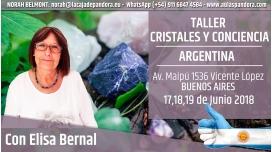 17, 18 y 19 Junio 2018 ( Buenos Aires - Argentina ) RESERVA - Taller Cristales y Consciencia