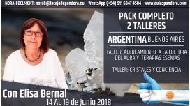 Del 14 al 19 Junio 2018  ( Buenos Aires - Argentina ) RESERVA - PACK 2 TALLERES de Elisa Bernal