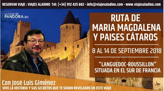 Del 8 al 14 Septiembre 2018 - RUTA MARÍA MAGDALENA Y PAISES CÁTAROS ( Languedoc - Roussillon, Francia )