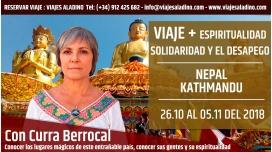 Del 27 Octubre al 4 Noviembre 2018 - VIAJE A NEPAL - Con Curra Berrocal - Espiritualidad, Solidaridad y el Desapego