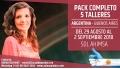 Del 29 Agosto al 2 Septiembre 2018 ( Buenos Aires, Argentina ) - RESERVA - Pack Completo 5 Talleres - Sol Ahimsa