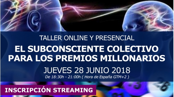 28 Junio 2018 - LOS NÚMEROS, LOS SORTEOS Y EL SUBCONSCIENTE COLECTIVO - Taller Online