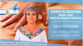 ( Buenos Aires, Argentina ) - PREINSCIPCIÓN Curso de Masaje Ayurvédico - Curra Berrocal