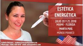 20 y 21 Julio 2018 ( Miami, Florida ) - RESERVA - Estética Energética, con Marta Puig