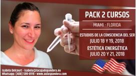 18, 19, 21 y 22 Julio 2018 ( Miami, Florida ) - RESERVA - PACK 2 TALLERES, con Marta Puig