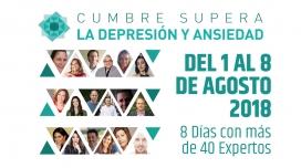 Del 1 al 8 Agosto 2018 - CUMBRE SUPERA LA DEPRESIÓN Y LA ANSIEDAD
