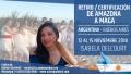 Del 12 al 15 de Noviembre 2018 ( Argentina ) - RESERVA - Retiro/Certificación DE AMAZONA A MAGA con Isabela Delcourt