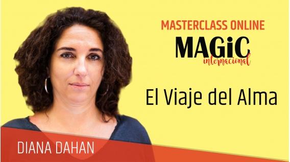 1 Diciembre 2018 - ( Online En Directo ) MASTERCLASS DIANA DAHAN, El Viaje del Alma