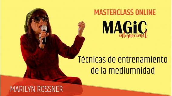 1 Diciembre 2018 - ( Online En Directo ) MASTERCLASS MARILYN ROSSNER, Técnicas de entrenamiento de la mediumnidad