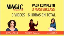 1 y 2 Diciembre 2018 ( Online en Directo ) - PACK COMPLETO 3 MASTERCLASS, Diana Dahan, Marilyn Rossner, Sol Ahimsa