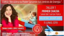 4 Junio 2019 ( Argentina, Buenos Aires ) - RESERVA - TALLER 1 PRIMER CHACRA Curso de Diana López Iriarte