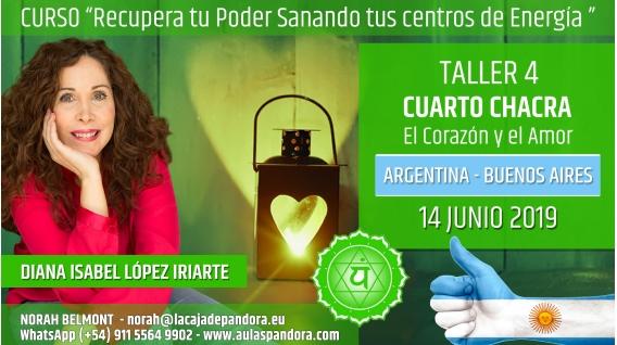 7 Junio 2019 ( Argentina, Buenos Aires ) - RESERVA - TALLER 4 CUARTO CHACRA Curso de Diana López Iriarte