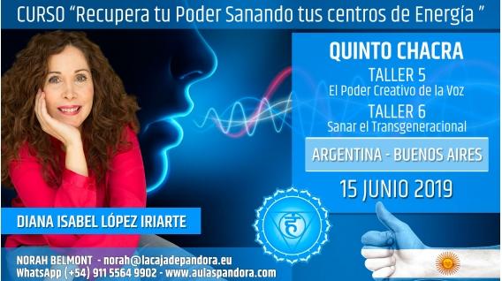 8 Junio 2019 ( Argentina, Buenos Aires ) - RESERVA - TALLERES 5 Y 6 QUINTO CHACRA Curso de Diana López Iriarte
