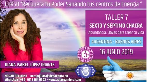 9 Junio 2019 ( Argentina, Buenos Aires ) - RESERVA - TALLER 7  SEXTO Y SÉPTIMO CHACRA Curso de Diana López Iriarte