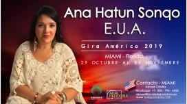 Del 29 Octubre al 3 Noviembre 2019 ( Miami - Florida ) - RESERVA - PACK 3 TALLERES Y 1 SEMINARIO - ANA HATUN SONQO