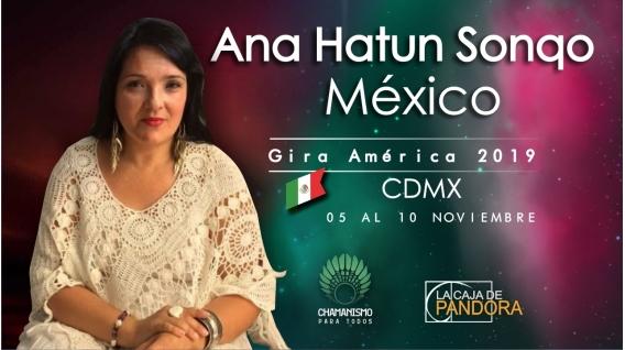 13,14 y 15 Diciembre 2018 ( CDMX - México ) - RESERVA - PACK 2 TALLERES Y 1 SEMINARIO - ANA HATUN SONQO