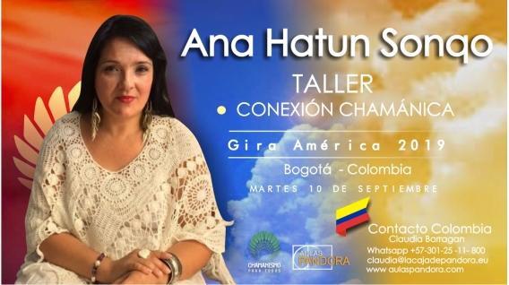 29 Noviembre 2018 ( Bogotá - Colombia ) - RESERVA - Taller Conexión Chamánica - ANA HATUN SONQO