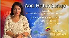 11 Septiembre 2019 ( Bogotá - Colombia ) - RESERVA - Taller Conexión con la Jerarquía Espiritual - ANA HATUN SONQO