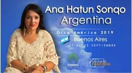 6,7 y 9 Diciembre 2018 ( Buenos Aires, Argentina ) - RESERVA - PACK 2 TALLERES Y 1 SEMINARIO - ANA HATUN SONQO