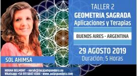 29 Agosto 2019 ( Buenos Aires - Argentina ) - RESERVA - Taller GEOMETRÍA SAGRADA : Aplicaciones y Terapias  - Sol Ahimsa