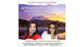 Del 23 al 28 Julio 2019 ( Monte Shasta, California ) - ACTIVANDO TUS TALENTOS, consciencia Empresarial