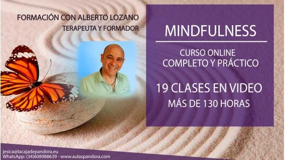 CURSO ONLINE: Mindfullness - Con Alberto Lozano