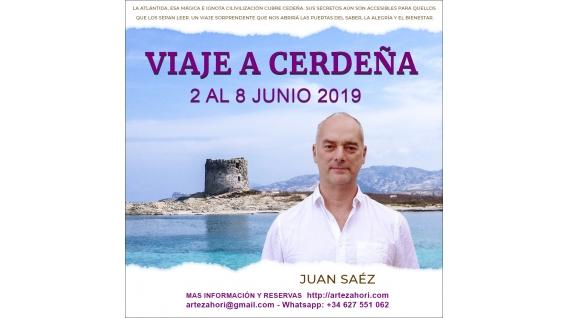 Del 3 al 9 Junio 2019 - VIAJE A CERDEÑA: Creatividad en la Atlántida con... Juan Sáez, Luís Palacios y Yolanda Soria