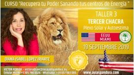 23 Mayo 2019 ( EEUU, Miami ) - RESERVA - TALLER 3 TERCER CHACRA Curso de Diana López Iriarte