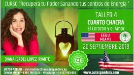 24 Mayo 2019 ( EEUU, Miami ) - RESERVA - TALLER 4 CUARTO CHACRA Curso de Diana López Iriarte