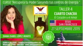 17 Mayo 2019 ( EEUU, San Francisco ) - RESERVA - TALLER 4 CUARTO CHACRA Curso de Diana López Iriarte
