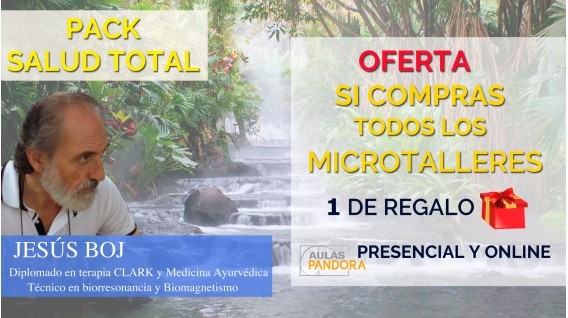 PACK SALUD TOTAL 5 MICROTALLERES CON JESÚS BOJ