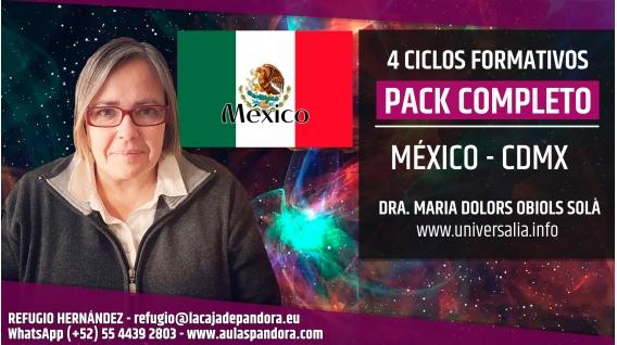 Del 21 al 25 Agosto 2019 ( México - CDMX ) - RESERVA - PACK COMPLETO 4 Ciclos Nuevo Paradigma Científico