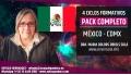 México, CDMX ( PRE-RESERVA ) PACK COMPLETO 4 Ciclos Nuevo Paradigma Científico