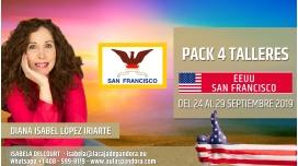 Del 14 al 19 Mayo 2019  ( EEUU, San Francisco )  - RESERVA - Pack completo 7 Talleres Curso de Diana López Iriarte
