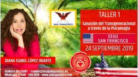 14 Mayo 2019 ( EEUU, San Francisco ) - RESERVA - TALLER 1 PRIMER CHACRA Curso de Diana López Iriarte